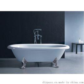 鼎派卫浴DIYASS  BX-027  亚克力古典休闲浴缸