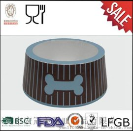 环保无毒密胺宠物碗|可定制logo狗碗|创意狗粮盆[规格齐全]