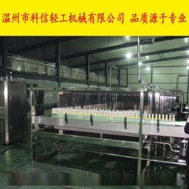 PET椰奶生产线|全套椰奶饮料加工设备|自动化椰汁饮料灌装生产设备
