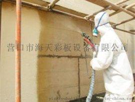 营口海天专业承接聚氨酯现场喷涂发泡保温工程屋顶墙面发泡保温施工