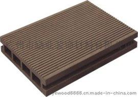 供應PE戶外木塑地板140*25空心地板