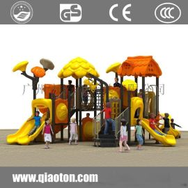 巧童QT614幼儿园公园儿童组合滑梯
