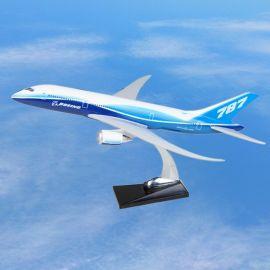 波音787 原型機航空樹脂模型 可定制客戶 靜態 飛機模型