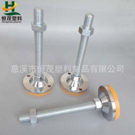 全钢镀铬重力支撑脚,聚氨酯减震可调脚,调节脚