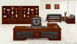 实木办公桌大班台老板桌总裁台总统台