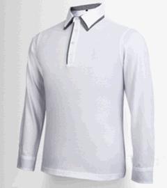 2017新 高尔夫服装 男女长袖翻领T恤服饰 运动透气吸汗 可定制
