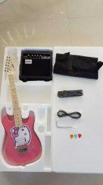 兒童電吉他  套裝 廠家直供可根據要求做顏色