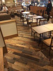 复古自然风旧木拼接实木多层复合地板怀旧感纯正老木料厂家供货
