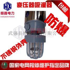 不锈钢吸湿器 不锈钢防爆呼吸器 变压器吸湿器不锈钢罩吸湿器