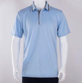 夏季新款男士翻领T恤POLO衫 高尔夫运动服装定制logo图案印花设计