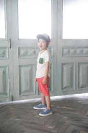 品牌厂家童装库存放货 爸爸做的衣服 夏季男童简约T桖分份批发
