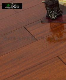 純實木地板 圓盤豆原木全實木地板 鎖扣免龍骨地暖