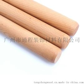 擀面杖 荷木质木制擀面杖擀面棒 擀面棍 压面棍