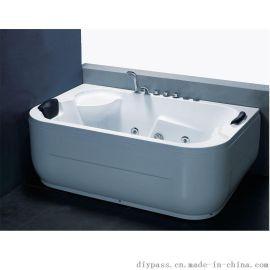鼎派卫浴DIYPASS  BA-0414 亚克力按摩浴缸