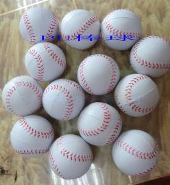 廠家直銷聚氨酯發泡88MM棒球 握力球不掉沫玩具 異形公仔