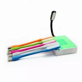 筆記本護眼小米燈 隨身便攜式USB接口led小夜燈 充電寶白光照明燈