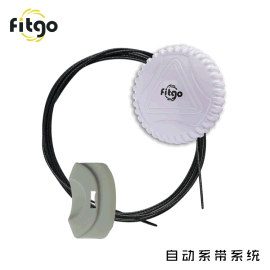 FITGO系带系统扣子运动鞋配件