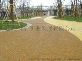 城市绿道广场大孔无砂混凝土-安徽透水地坪厂家|施工价格