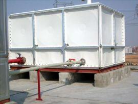 供应枣强华强环保玻璃钢水箱
