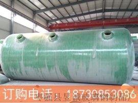 玻璃钢隔油池哪里卖 厂家供应北京玻璃钢化粪池