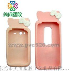 訂做PVC軟膠廣告手機外殼 專業定做塑膠廣告手機外套