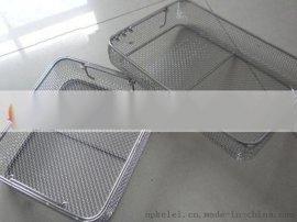 专业生产不锈钢双边丝加固医用器械清洗、消毒、灭菌、器械打包篮筐
