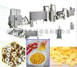 全自動多功能早餐谷物膨化機,多功能玉米片膨化機