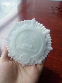 河南3D打印白色獎牌模型