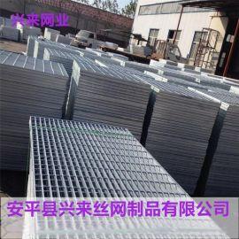 热镀锌踏步板 楼梯踏步板材料 钢格板现货
