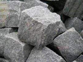 G654全自然面马蹄石小方块弹石