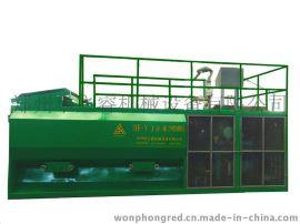 云南昭通用华之睿HF-YA9液力喷播机做边坡绿化