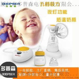 【环保小夜灯】智能电动吸奶器单边吸奶器吸力大
