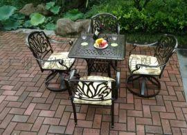 广州专业生产铸铝桌椅 优质户外铸铝桌椅 铸铝图片
