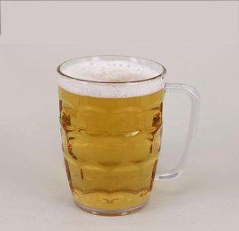650ml透明,啤酒杯, 馬克杯, 塑料啤酒杯