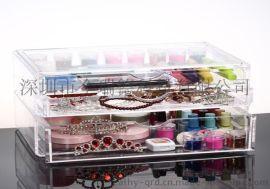 生活日用品亞克力展示盒 亞克力透明禮品收納盒防塵盒定做 有機玻璃珠寶盒廠家定制
