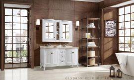鼎派卫浴DIYPASS M-6128 美式定制浴室柜