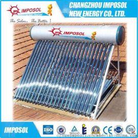 厂家直销一体非承压智能控制电加热太阳能热水器CE认证