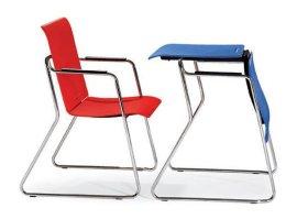 桌椅两用多功能培训椅