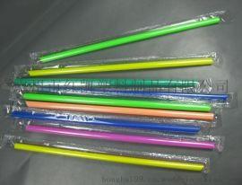 彩色PP沙冰吸管, 一次性饮料吸管, 果汁吸管