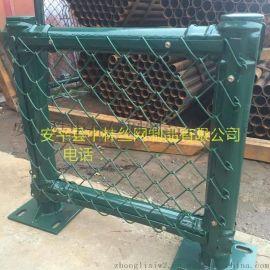 中林丝网zl-12草绿色仓库护栏网