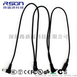 廠家熱銷效果器電源線 拓撲線 一拖二、三轉接線