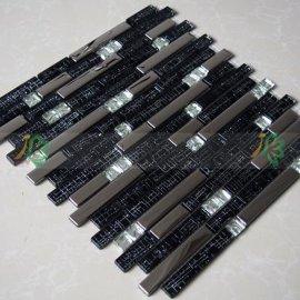 北京大兴区欧式现代齐全有特色低价格的金属电镀水晶玻璃马赛克生产厂家直销
