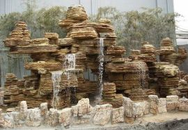 河北假山喷泉制作公司
