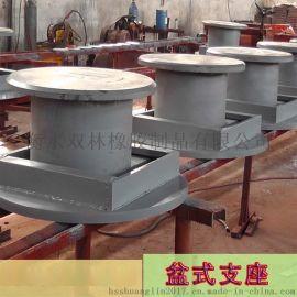 TGPZ系列调高盆式橡胶支座长沙直销HDR型高阻尼橡胶支座
