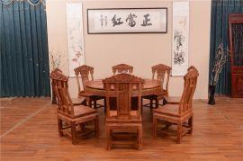 红木家具圆桌,花梨木餐台价格,哪里有花梨木餐桌卖,广西红木家具市场,广西红木家具厂家