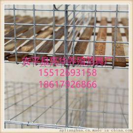 安平亮华养殖笼具厂现货批发加粗加密子母兔笼  竹底兔笼 兔子笼厂价销售