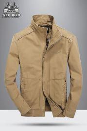男士上衣 战地吉普男士风衣 JEPP风格男士立领休闲大衣 外套