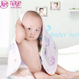 厂家直销 批发纯棉四层纱布婴童包被超柔软吸水新生儿童宝宝必备