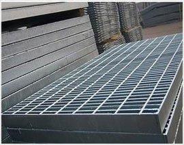 钢格板厂 花纹钢格板 化工钢格板