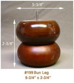 木沙发脚(BUN-1)